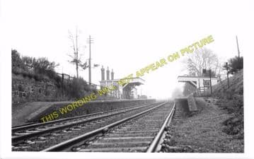 Croft Railway Station Photo. Narborough - Elmesthorpe. Leicester to Nuneaton (2)