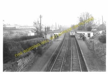 Croft Railway Station Photo. Narborough - Elmesthorpe. Leicester to Nuneaton (3)