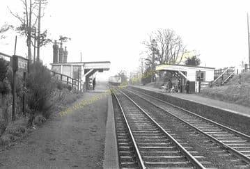 Croft Railway Station Photo. Narborough - Elmesthorpe. Leicester to Nuneaton (6)
