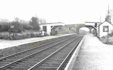Croft Railway Station Photo. Narborough - Elmesthorpe. Leicester to Nuneaton (7)