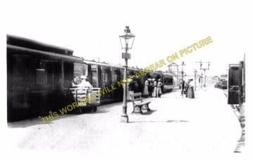 Cromer Beach Railway Station Photo. Sheringham Line. M&GNR. (11)