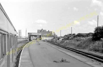 Cromer Beach Railway Station Photo. Sheringham Line. M&GNR. (16)
