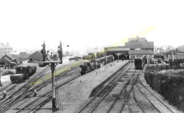 Cromer Beach Railway Station Photo. Sheringham Line. M&GNR. (17)