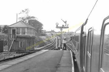 Cromer Beach Railway Station Photo. Sheringham Line. M&GNR. (20)