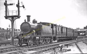 Cromer Beach Railway Station Photo. Sheringham Line. M&GNR. (23)