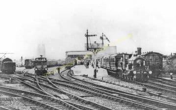 Cromer Beach Railway Station Photo. Sheringham Line. M&GNR. (25)