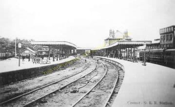 Cromer High Railway Station Photo. Great Eastern Railway. (16)