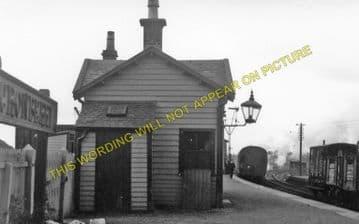 Cronberry Railway Station Photo. Muirkirk to Lugar and Cumnock Line. G&SWR. (1)