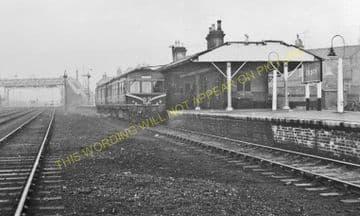 Crook Railway Station Photo. Beechburn - Tow Law. Rowley Line. North Eastern (2)