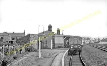 Crook Railway Station Photo. Beechburn - Tow Law. Rowley Line. North Eastern (5)