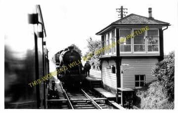 Crossmichael Railway Station Photo. Castle Douglas - Parton. Galloway Line. (1)..