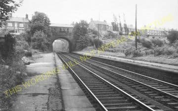 Croxdale Railway Station Photo. Durham - West Cornforth. (1)..