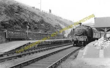 Crumlin High Level  Railway Station Photo. Pontypool - Hengoed. GWR. (1)