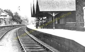 Crumlin High Level  Railway Station Photo. Pontypool - Hengoed. GWR. (2)