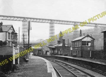 Crumlin Low Level Railway Station Photo. Newbridge - Llanhilleth. (1)