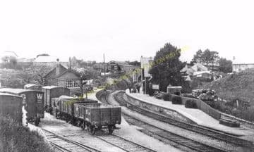 Crymmych Arms Railway Station Photo. Glogue - Boncath. Whitland to Cardigan. (11).