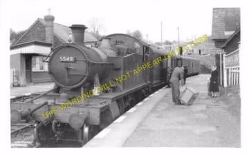 Crymmych Arms Railway Station Photo. Glogue - Boncath. Whitland to Cardigan. (6)