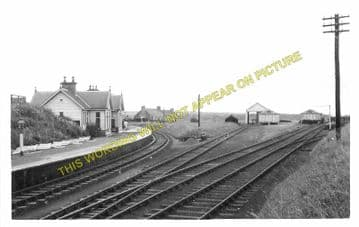 Cullen Railway Station Photo. Portknockie - Tochieneal. Buckie to Portsoy. (3)
