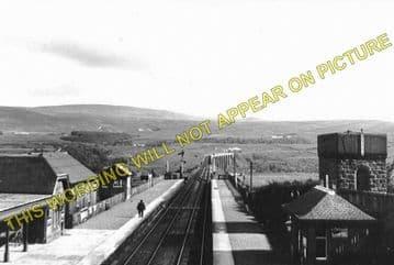 Culloden Moor Railway Station Photo. Inverness - Daviot. Aviemore Line. (2)