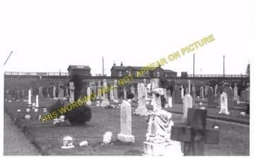 Cumnock Railway Station Photo. Cronberry - Dumfries House. Muirkirk Line. (2)