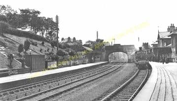 Cupar Railway Station Photo. Dairsie - Springfield. Leuchars to Ladybank. (3)