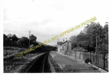 Cynghordy Railway Station Photo. Llanwrtyd Wells - Llandovery. Builth Line. (4)