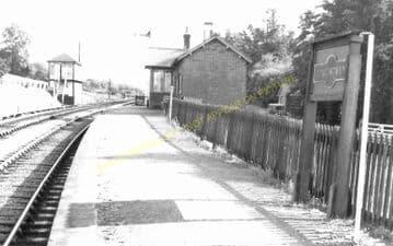 Cynghordy Railway Station Photo. Llanwrtyd Wells - Llandovery. Builth Line. (6)