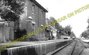 Daggons Road Railway Station Photo. Verwood - Fordingbridge. West Moors Line (2)