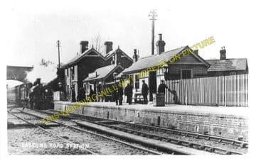 Daggons Road Railway Station Photo. Verwood - Fordingbridge. West Moors Line (3)