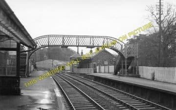 Dailly Railway Station Photo. Killochan - Kilkerran. Girvan to Maybole Line. (1)..