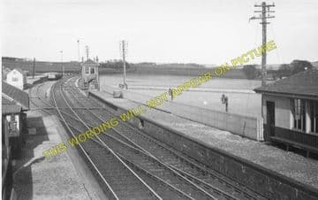Dairsie Railway Station Photo. Leuchars - Cupar. Springfield & Ladybank Line (1)