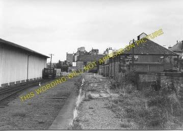 Dalkeith Railway Station Photo. Millerhill Line. Edinburgh Area. NBR. (2)