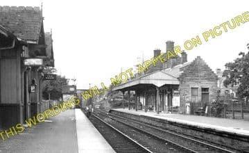 Dalmally Railway Station Photo. Tyndrum - Loch Awe. Crianlarich to Oban. (1)