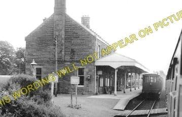 Dalmally Railway Station Photo. Tyndrum - Loch Awe. Crianlarich to Oban. (2)
