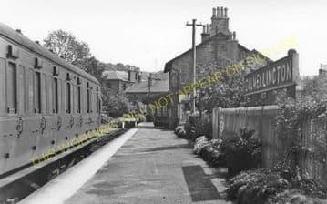 Dalmellington Railway Station Photo. Waterside, Patna, Holehouse Line. G&SWR (3)