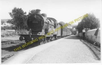 Dalmellington Railway Station Photo. Waterside, Patna, Holehouse Line. G&SWR (4)