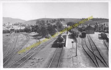 Dalmellington Railway Station Photo. Waterside, Patna, Holehouse Line. G&SWR (5)