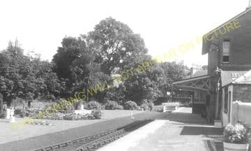 Dalmellington Railway Station Photo. Waterside, Patna, Holehouse Line. G&SWR (8)