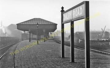 Dalry Road Railway Station Photo. Edinburgh - Midcalder. Caledonian Railway. (1).