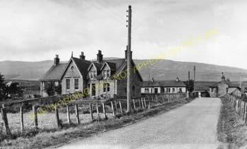 Dalwhinnie Railway Station Photo. Dalnaspidal - Newtonmore. Highland Railway (3)