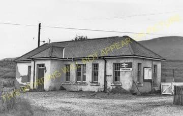 Dalwhinnie Railway Station Photo. Dalnaspidal - Newtonmore. Highland Railway (5)