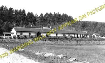 Dandaleith Railway Station Photo. Craigellachie - Rothes. Dufftown to Elgin. (1)