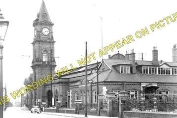 Darlington Bank Top Railway Station Photo. North Eastern Railway. (1)..