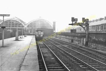 Darlington Bank Top Railway Station Photo. North Eastern Railway. (10)
