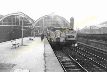 Darlington Bank Top Railway Station Photo. North Eastern Railway. (11)