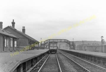 Darvel Railway Station Photo. Loudonhill - Newmilns. Kilmarnock Line. G&SWR (4)
