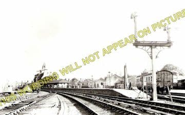 Denbigh Railway Station Photo. Llanrhaiadr to Trefnant and Bodfari Lines. (2)