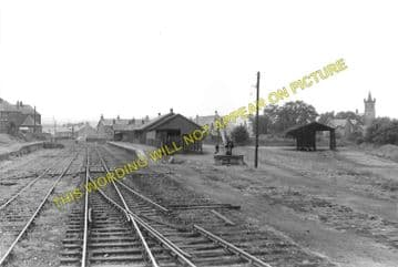Denny Railway Station Photo. Larbert and Falkirk Lines. Caledonian Railway (2)..