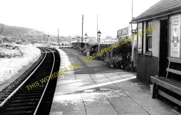 Derry Ormond Railway Station Photo. Lampeter - Llangybi. Tregaron Line. GWR. (2)