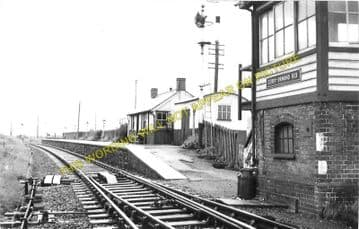 Derry Ormond Railway Station Photo. Lampeter - Llangybi. Tregaron Line. GWR. (3)